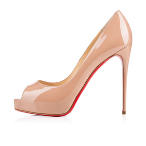 Christian Louboutin Hyper Prive Pre-owned 39.5 Nude Patent