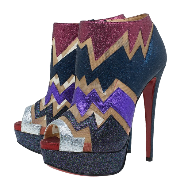 Brand New Christian Louboutin Ziggy Booties 37.5