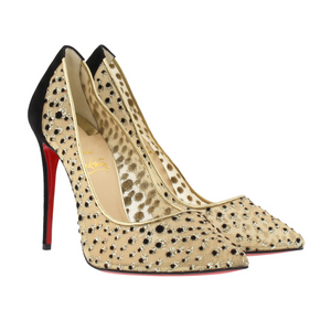 Brand New Christian Louboutin Follies Lace Mouchete 40