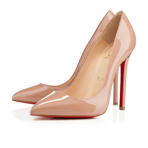 Christian Louboutin Pigalle Patent Nude 36.5
