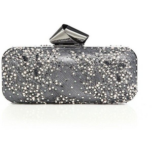 Brand New Jimmy Choo Dream Tube Pearl And Crystal Embellished
