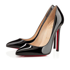 Christian Louboutin Pigalle Patent Black 37.5 (Refurbed)