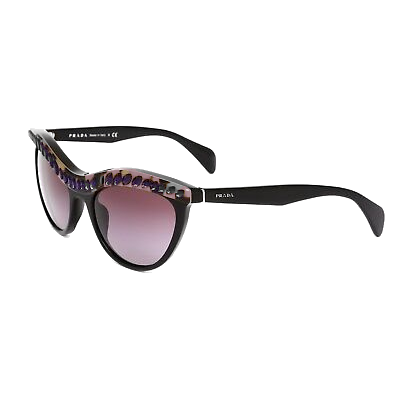 Prada Crystal Cats Eye Sunglasses