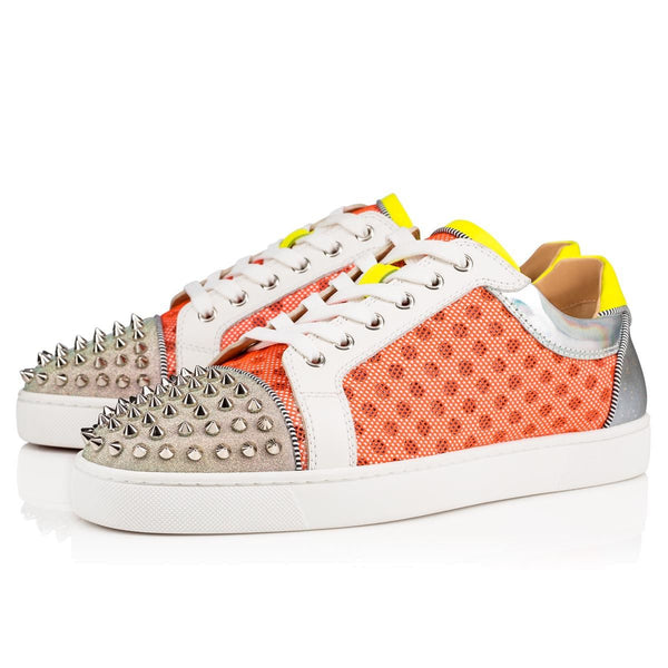Brand New Christian Louboutin Seavaste Spike Sneakers 44