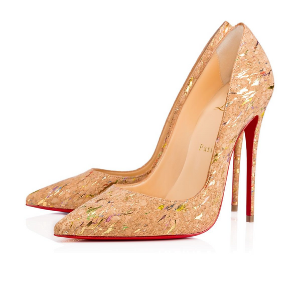 Brand New Christian Louboutin So Kate Liege Lame 36