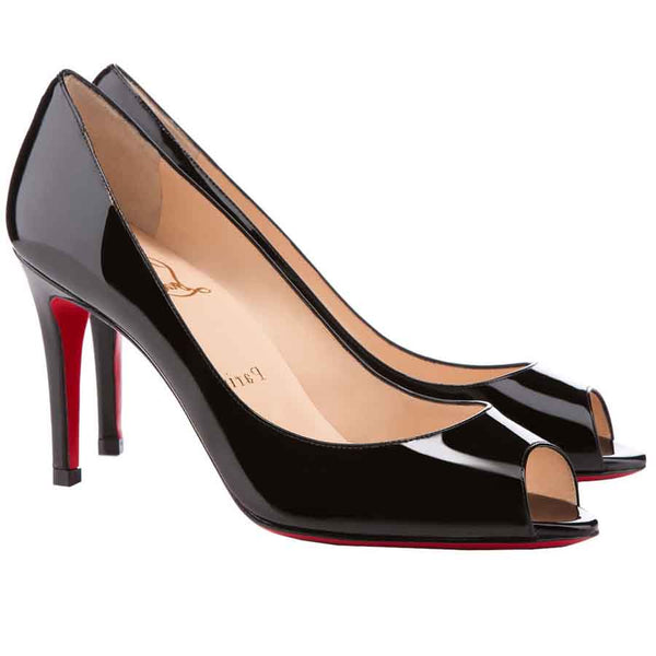 Brand New Christian Louboutin You You Black Patent 40