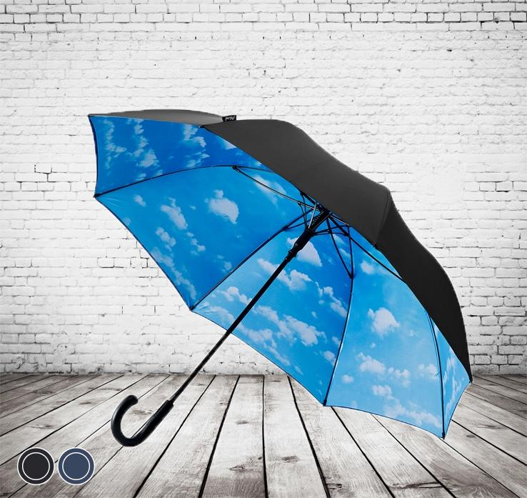 The Striking Deluxe Inner Cloud Umbrella - stand out in the crowd