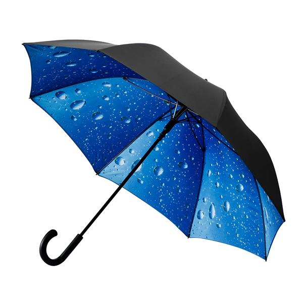 The Stunning Deluxe Inner Rain Umbrella- make a statement in the rain!