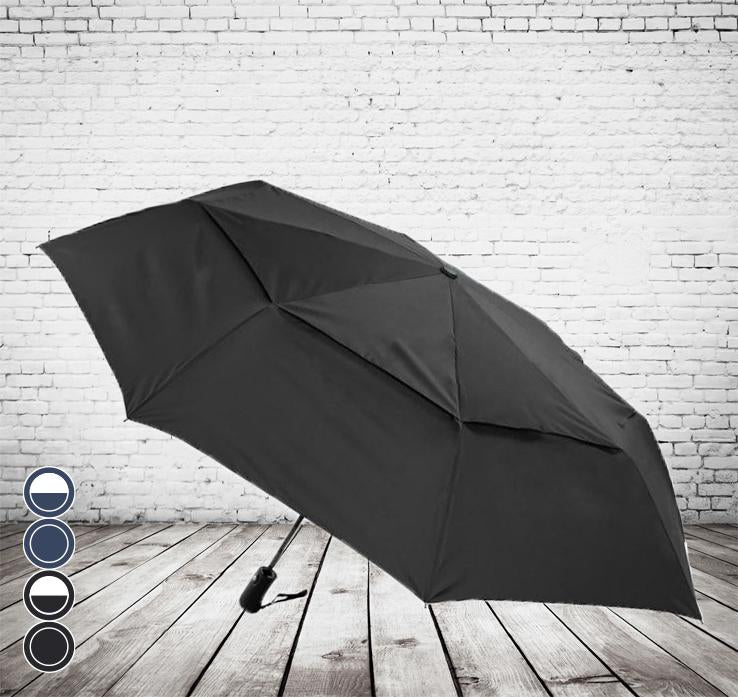 Compact vented golf  umbrellas -the ultimate in size and convenience.
