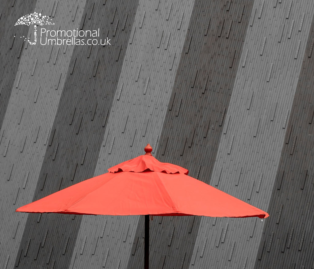 Branded Parasols London - parasols built for the capital.