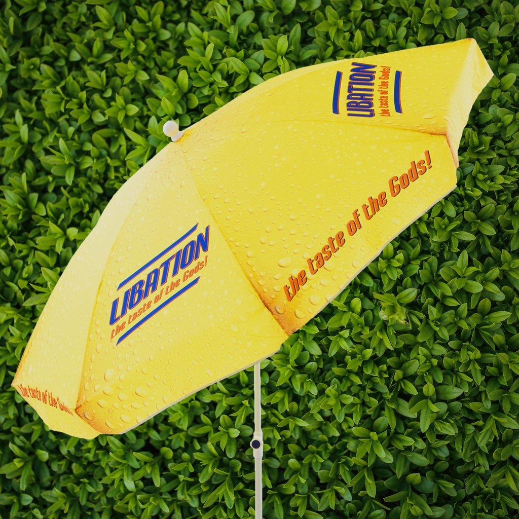 Beer Garden Umbrellas - Our all over prints offer big exposure for your brand
