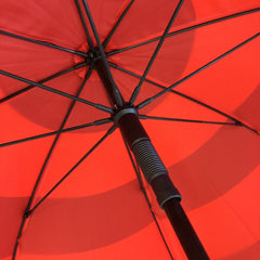 The lightweight but strong frame of the Atlantic Storm Golf Umbrella