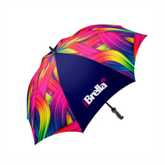 All over printed golf umbrella