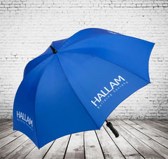 Single colour printed golf umbrella