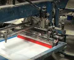 Umbrella Printing - The screen printing process revealed