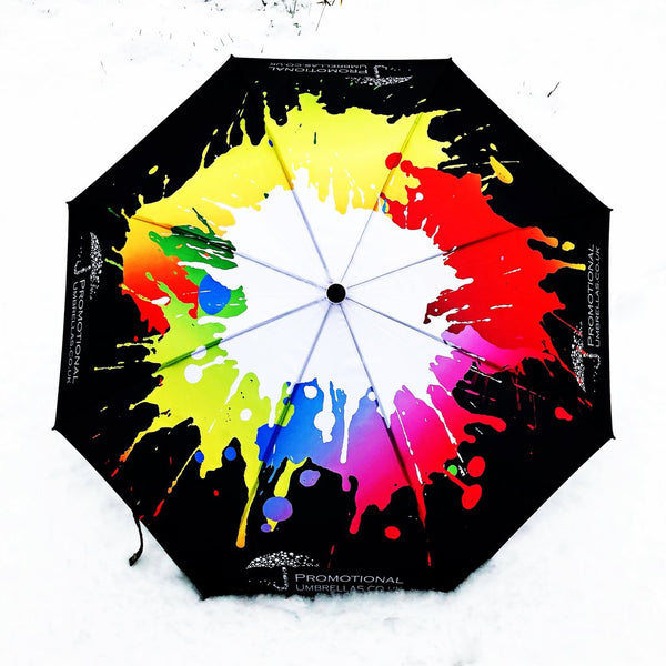 Atlantic Folding Deluxe Umbrella - THE ULTIMATE, ALL OVER PRINTING, BEST QUALITY - As low as £12.40 each Printed & Delivered