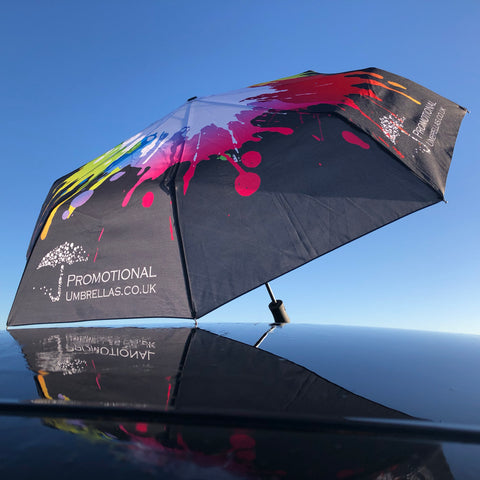 Atlantic Folding Deluxe Umbrella - THE ULTIMATE, ALL OVER PRINTING, BEST QUALITY - As low as £12.40 each