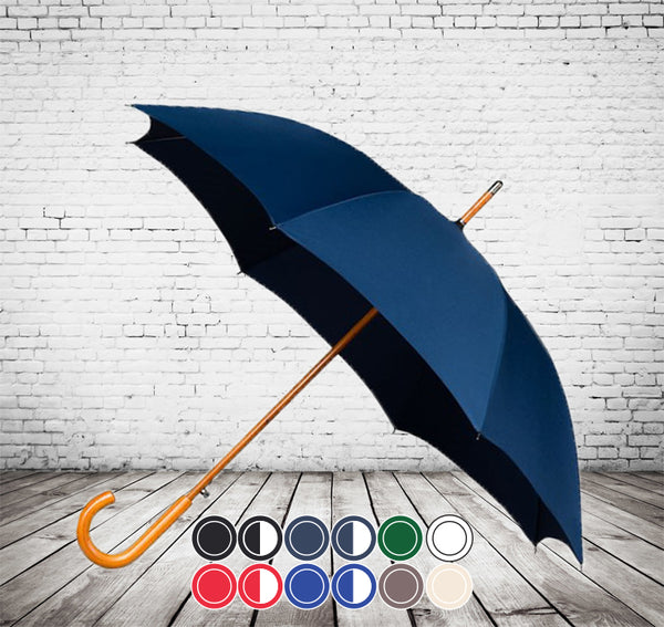 Auto City Classic Deluxe Umbrella - VERY BEST TRADITIONAL WALKING UMBRELLA - As low as £7.75 each