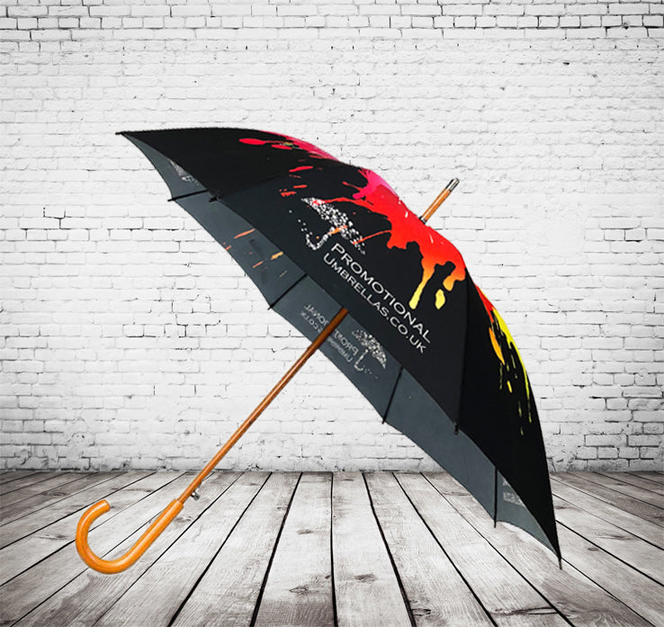 Auto City Classic Deluxe Umbrella Full Canopy Print