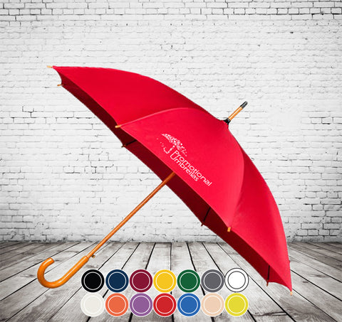 Auto City Classic Umbrella - CHEAPEST TRADITIONAL WALKING UMBRELLA - As low as £5.09 each