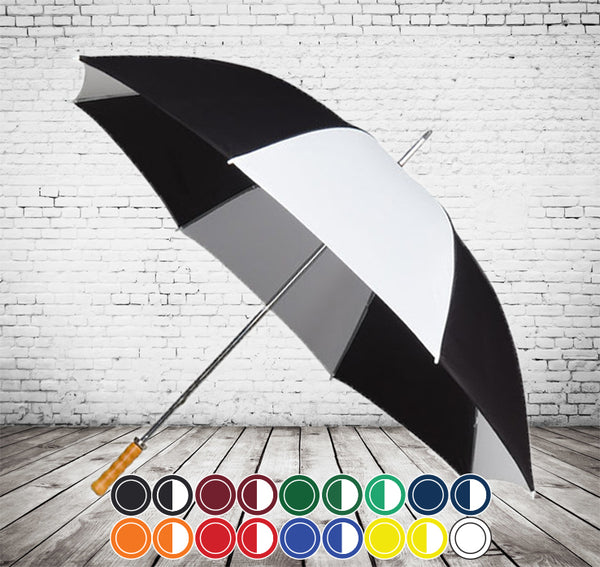 Budget Golf Umbrella - CHEAPEST GOLF UMBRELLA - As low as £5.95 each