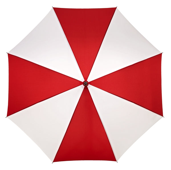 City Commuter Striped Umbrella Top View