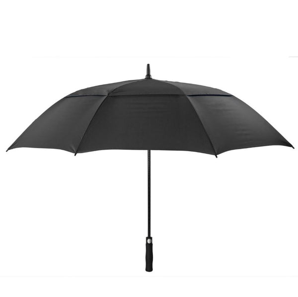 Cyclone Auto Vented Golf Umbrella - Side view of the promotional golf umbrella