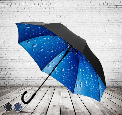 Deluxe Inner Rain Umbrella - STORM PROOF, STUNNING DESIGN - As low as £15.50 each