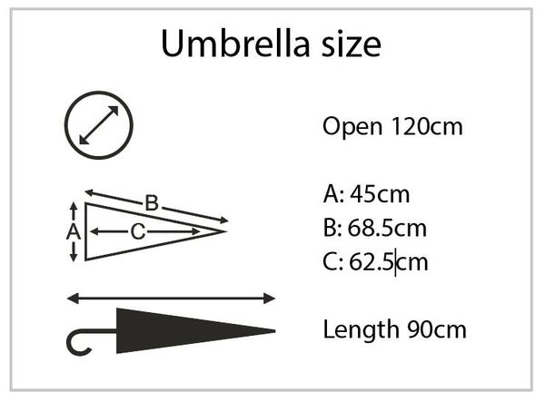 ECO Vented Golf Umbrella - As low as £15.50 each Printed & Delivered