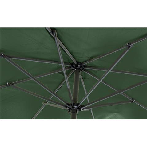Mayfair 2.5 Metre Round Aluminium Parasol Inside View