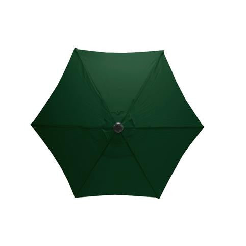 Mayfair 2.5 Metre Round Aluminium Parasol Top View