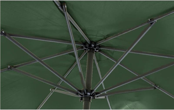 Mayfair 3 Metre Round Aluminium Parasol Inside View