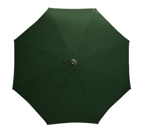 Mayfair 3 Metre Round Aluminium Parasol Top View
