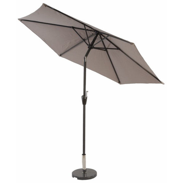 Mayfair 3 Metre Round Aluminium Printed Parasol Long View
