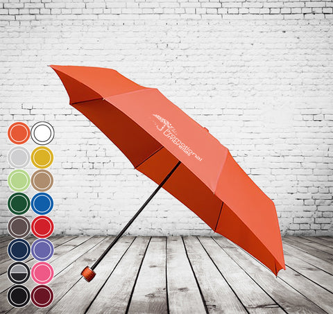 Mini Sports Folding Umbrella - FANTASTIC VALUE, WINDPROOF, COLOUR CHOICE - As low as £6.41 each