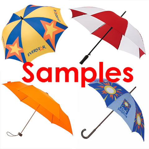Order a sample umbrella