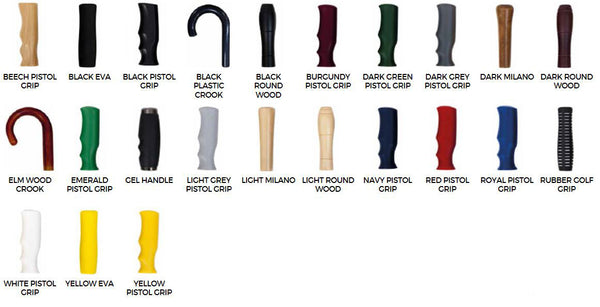 Spectrum Sport Golf Umbrella - A huge choice of handles availabe for this promotional umbrella
