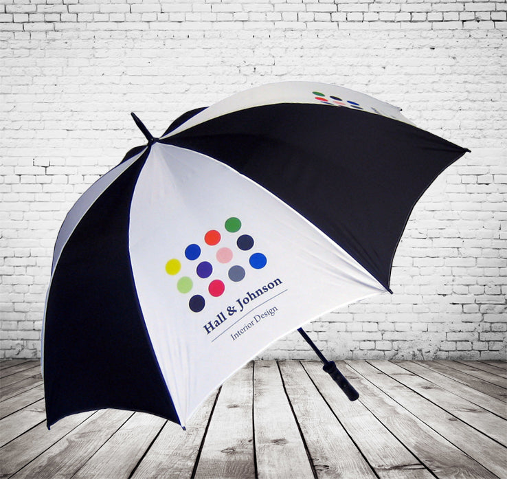 Spectrum Sport Golf Umbrella - GREAT BESPOKE COLOUR CHOICE - As low as £11.54 each