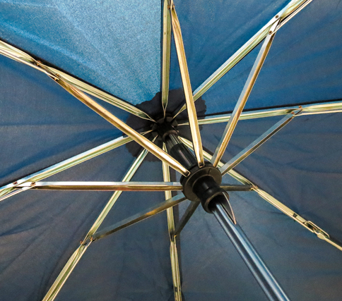SuperMini Folding Umbrella Inside View