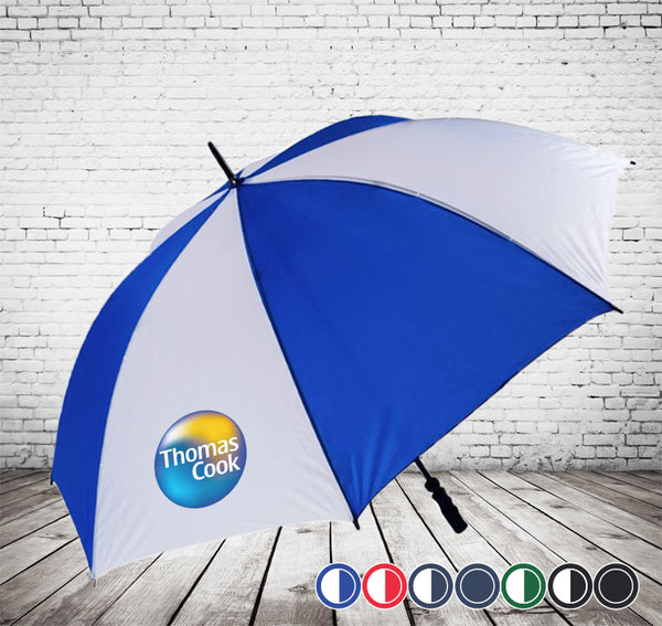 Susino Golf Fibre Light Umbrella- CHEAPEST STORMPROOF Promotional Umbrellas - As low as £7.10 each Printed & Delivered