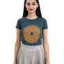 Ladies Grey Sundial Tee