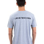 "Mens ""Live No Fuchs Given"" V-Neck T-Shirt"