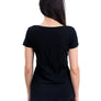Ladies Black Sundial Tee