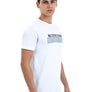 Unisex Essential Slogan White Longline T-Shirt