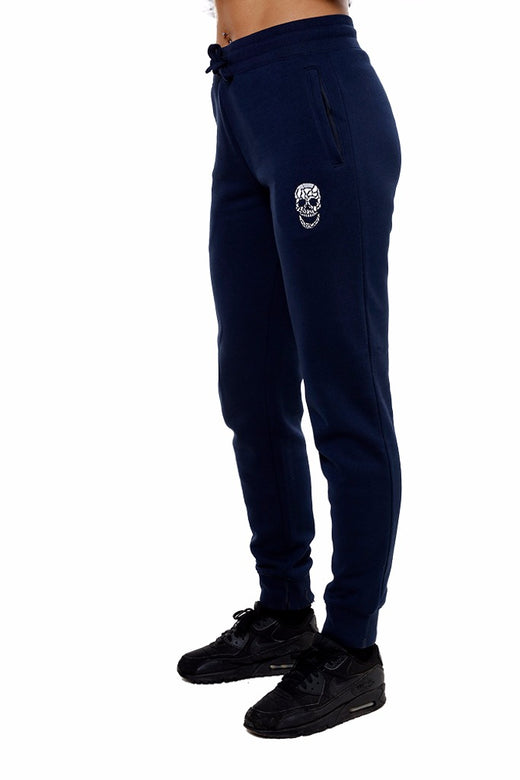 Ladies Navy Sweatpants