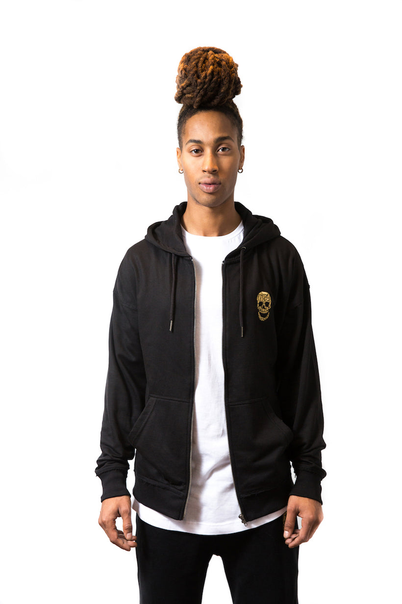 Mens Oversized Sweat Zip Hoodie