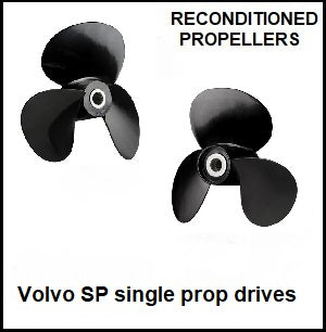 volvo single prop drives short and long hub Recon