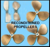 Bronze propellers fixed blade and folding reconditioned