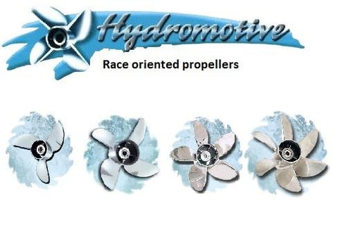 Hydromotive stainless steel propellers