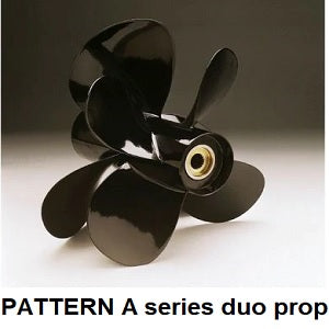 Pattern volvo duo aluminium props A series - PRICE PER SET off 1 x LH & 1 x RH propeller